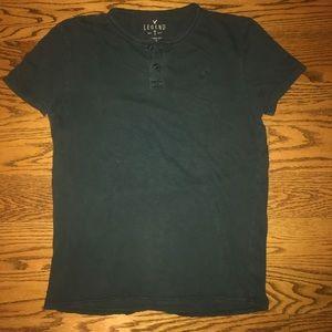 VTG American Eagle classic button T-shirt